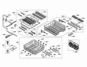 Bosch Model Shp865wf5n  01 Dishwasher Genuine Parts