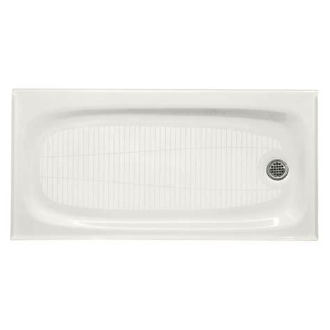 30 x 60 shower base kohler salient 60 in x 30 in single threshold shower 7326