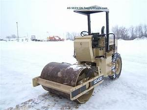 Ingersoll Rand Sd40d Compaction Roller