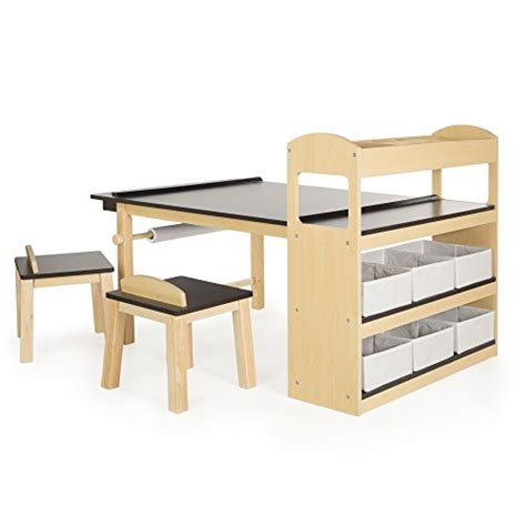 toddlers and kids art desks with storage