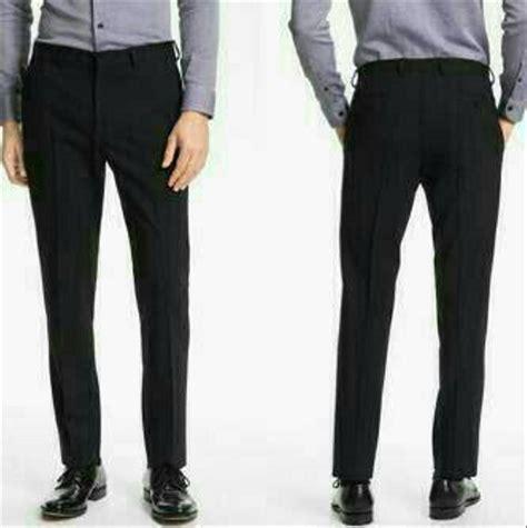 jual celana panjang bahan kantor kerja pria laki ukuran 40 41 42 43 44 45 terlaris di lapak