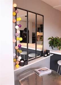 Grand Miroir Ikea : 5 fa ons de bien utiliser le miroir chez soi marie claire maison ~ Teatrodelosmanantiales.com Idées de Décoration