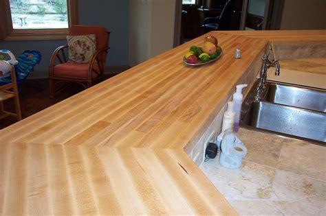 maple edge grain wood bar tops traditional kitchen