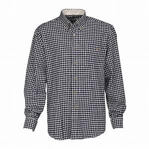 Pull De Chasse Homme : chemise de chasse carreaux bleue percussion warm 100 coton ~ Nature-et-papiers.com Idées de Décoration