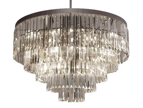 G7-1100/9 Gallery Chandeliers Retro Odeon Crystal Glass