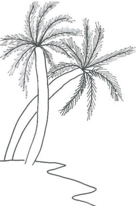 coconut tree drawing   clip art  clip art  clipart library