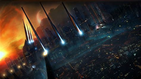 amazing wallpapers space city image dark forcescience
