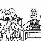 Coloring Pages Barber Wallace Gromit Barbershop Going Getdrawings Printable Getcolorings sketch template