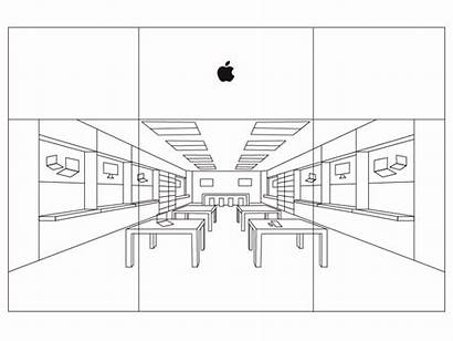 Apple Drawing Many Sketch Dribbble Layers
