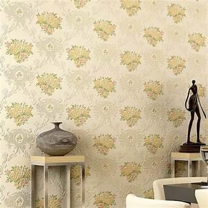 Papier Peint Fleuri Vintage : papier peint vintage motifs floraux en 25 id es fantastiques ~ Melissatoandfro.com Idées de Décoration