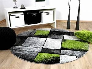 Teppich Grün Grau : designer teppich brilliant grau gr n fantasy rund teppiche designerteppiche brilliant teppiche ~ Avissmed.com Haus und Dekorationen