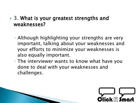 Strengths And Weaknesses Best Answers by How To Best Prepare For A