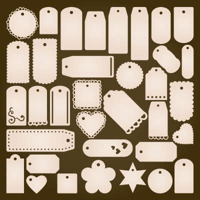 Tag shape dialog box, such as lace. Tags Galore SVG Collection - $5.49 : SVG Files for Cricut ...