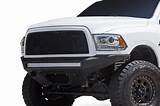 dodge ram   stealth fighter front bumper
