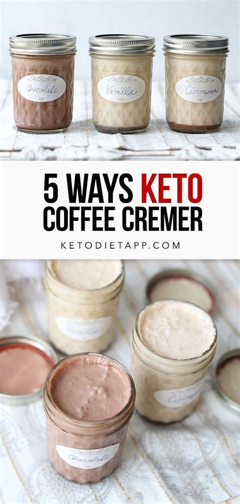 Coconut milk coffee creamer recipe. Low-Carb & Keto Coffee Creamer Five Ways | KetoDiet Blog | Low carb coffee creamer, Dairy free ...
