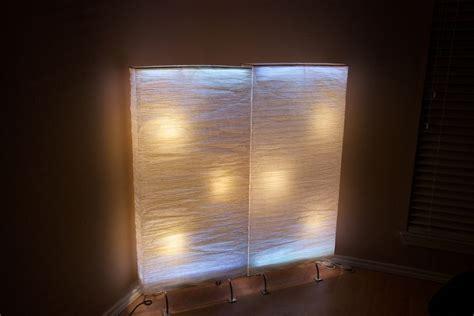 ikea hackers a led room divider glow job lighting