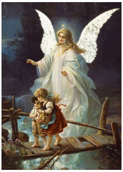 Angel Children Glitter Graphics Glitters123 Angels Guardian