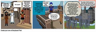 Fredericks Period Mr Comic Strip Storyboard Slide