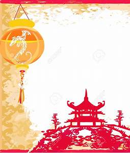 Chinese clipart background