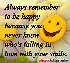 Smile Quotes & Sayings Images : Page 21