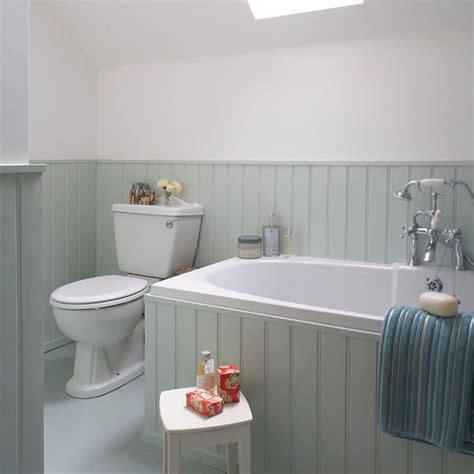 tongue and groove bathroom ideas aqua tongue and groove bathroom housetohome co uk