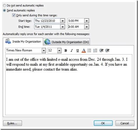 how to write a reply email exle automatic reply email