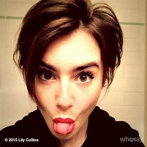 Image Gallery lily collins instagram
