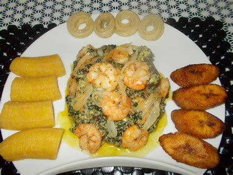 cuisine africaine facile file ndolè à la viande morrue et crevette jpg