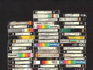 Old Technology Anonymous - Still hanging on to your VHS ...