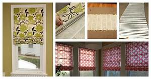 easy diy no sew roman shades out of mini blinds With are roman shades out of style