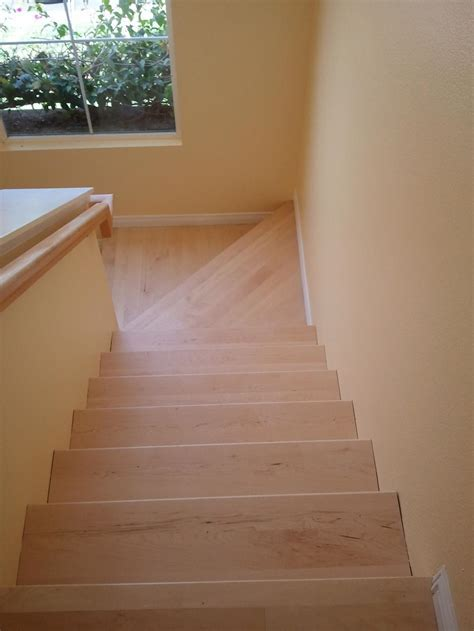 Appealing Maple Stair Treads   Latest Door & Stair Design