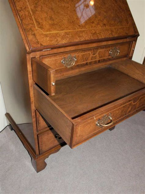 bureau cabine walnut bookcase bureau cabinet desk