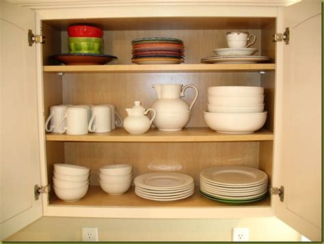 Organize Kitchen Cabinets  Just A Girl Blog
