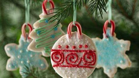 bake christmas ornaments no bake cookie ornaments recipe from betty crocker