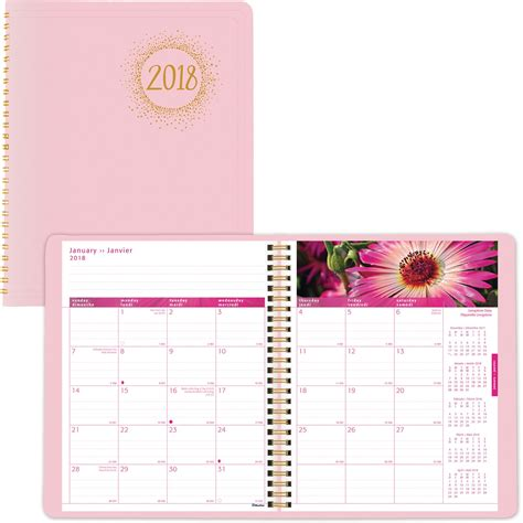 blueline pink ribbon planner madill office company