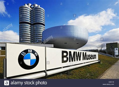 bmw museum display with bmw logo and bmw towers bmw museum munich