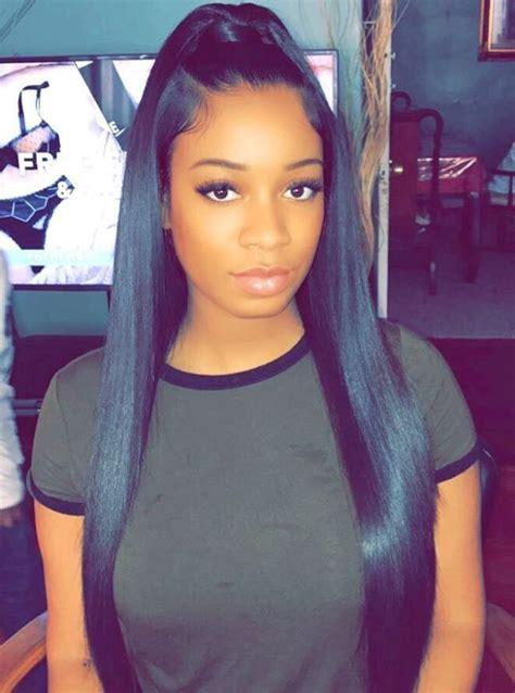 classy black ponytail hairstyles   hair