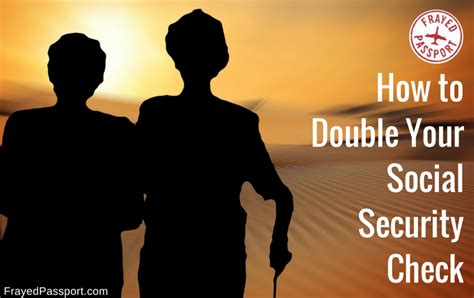 How to Double Your Social Security Check for Financial ...