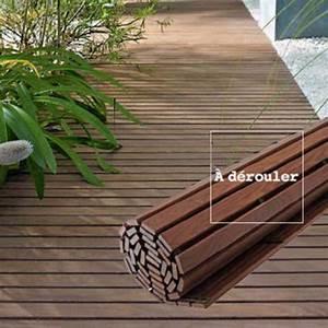 terrasse pose facile pour les nouvelles dalles cote maison With faire une terrasse en caillebotis