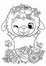 Coloring Animal Sheep Cuties Printable Bojanke Preschool Printables Books Animals Riscos Colorear Dessin Dibujos Pintar Bontontv Bonton Kid Colouring Drawings sketch template