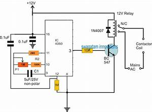 Submersible Pumpset Timer Circuit