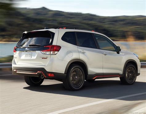 Subaru Shows A New Forester  Drive Safe And Fast