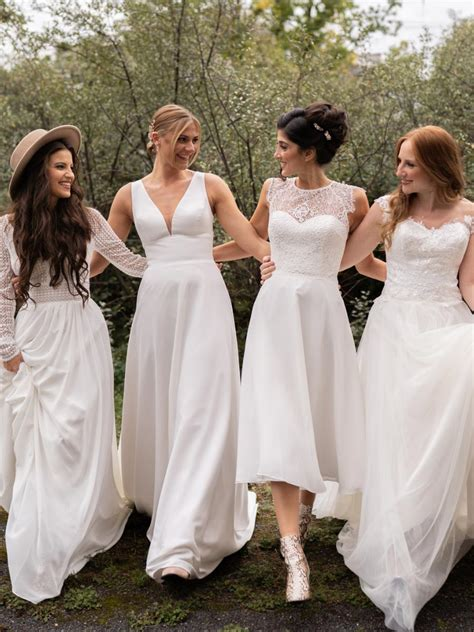 Wir sind sicher, dass unter unseren brautkleidern das kleid ihrer träume ist. Standesamt Brautkleider ★★★★★ hochzeitsrausch Brautmoden