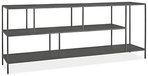 console bookcase foshay console bookcases in steel modern