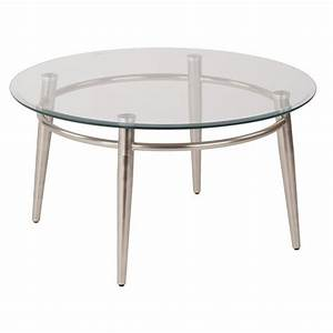 tempered glass round top coffee table in silver mg1230r nb With round glass silver coffee table
