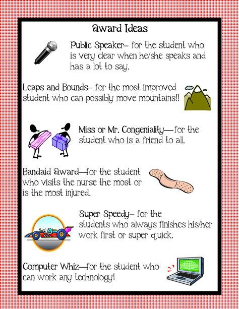 kindergarten squared awards ideas for your kiddos 749 | award ideas4