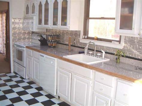 glass backsplash kitchen 10 best images about metal backsplash on 4563