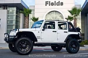 4 Door Drop White Jeep Wrangler Beautiful Off ROad