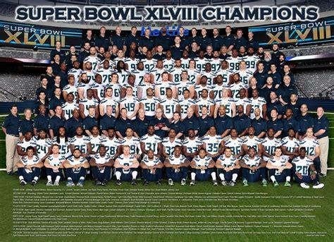seattle seahawks superbowl  team photo