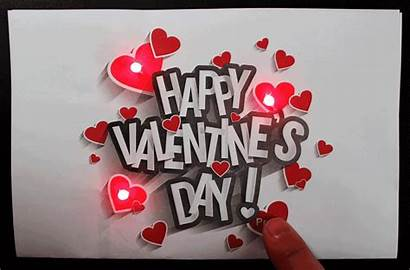 Valentines Card Valentine Happy Cards Hearts Gifs